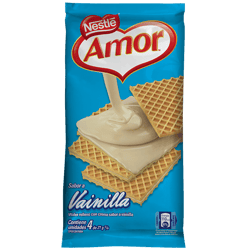 AMOR® Wafer vainilla multipack 84g